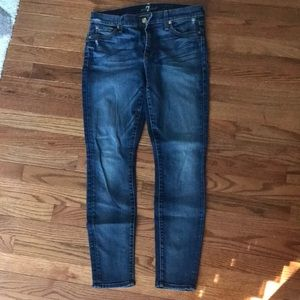 Seven for all mankind ankle skinny 29